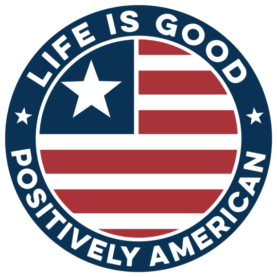 Americana Small Die Cut Decal