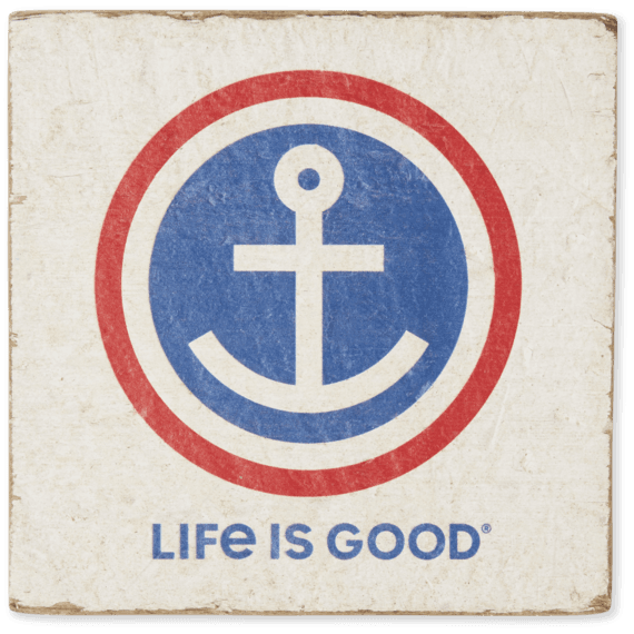 Anchor Small Wooden Sign