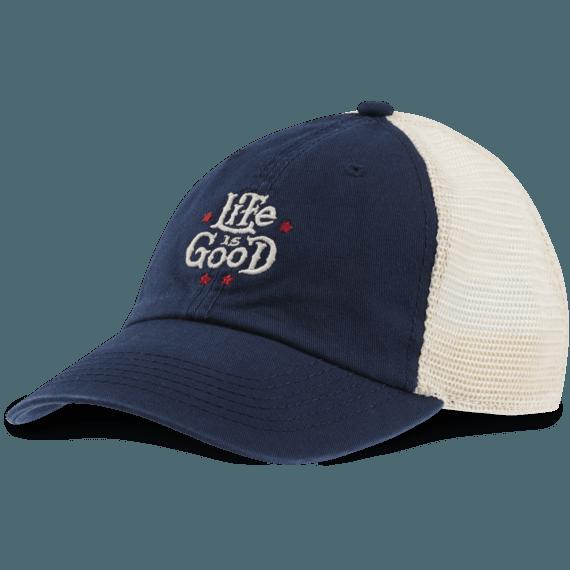 Artsy LIG Stars Soft Mesh Back Cap