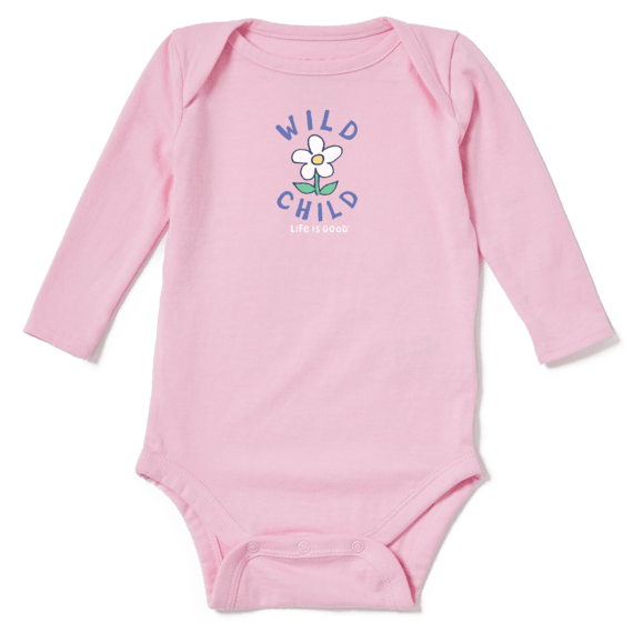 Baby Wild Child Long Sleeve Crusher Bodysuit