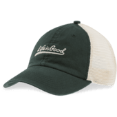 Ballyard Script Soft Mesh Back Cap