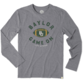 Men's Baylor Game On Long Sleeve Cool Tee
