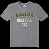 Men's Baylor Grateful Dad Cool Tee
