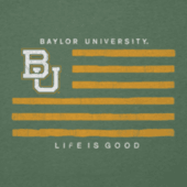 Men's Baylor Flag Cool Tee