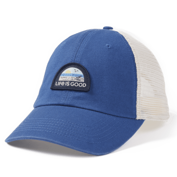 Beach Chair Landscape Soft Mesh Back Cap