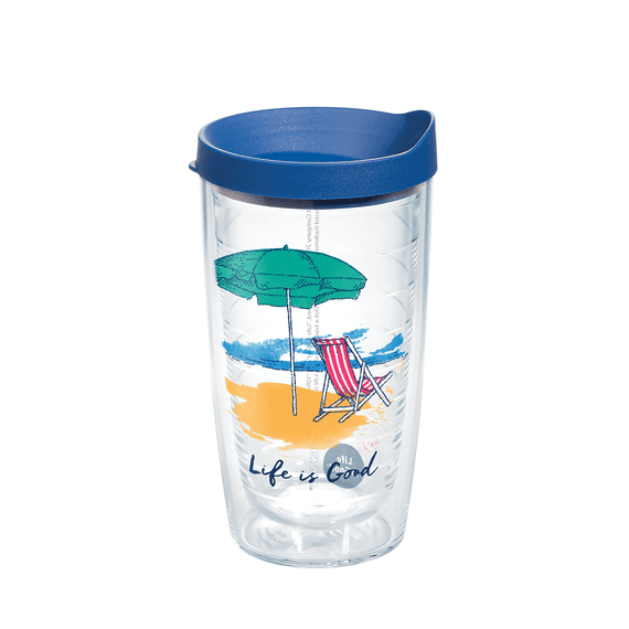 Beach Chair Tervis Tumbler with Lid, 16oz