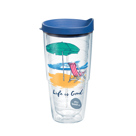 Beach Chair Tervis Tumbler with Lid, 24oz