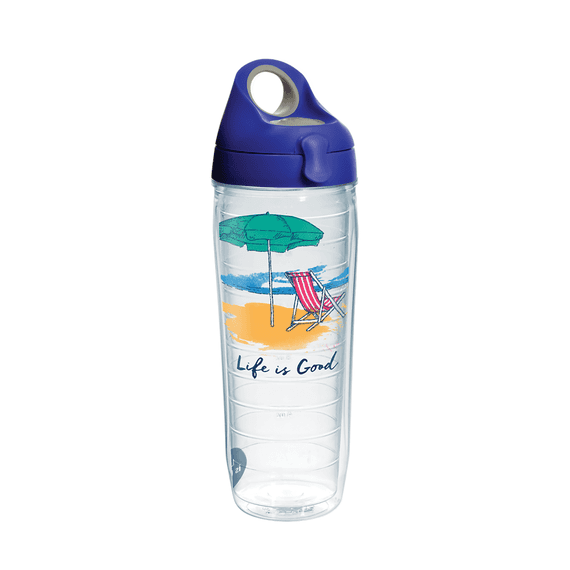 Beach Chair Tervis Water Bottle with Lid