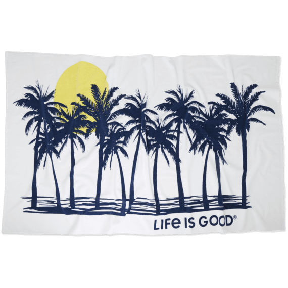 Beach Palms Beach Towel