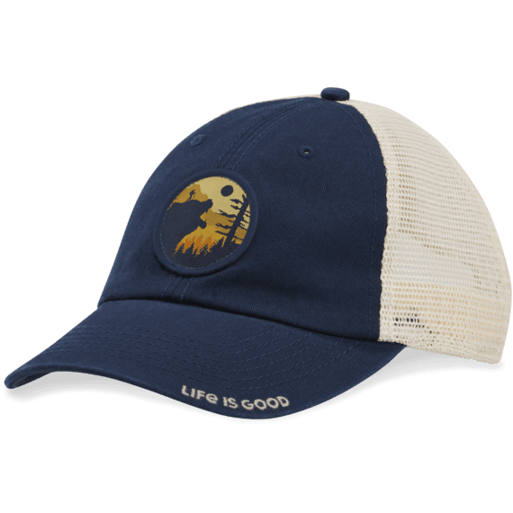 Bear Hike Soft Mesh Back Cap