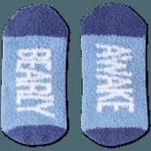 Bearly Awake Snuggle Crew Socks
