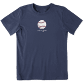Boys Baseball Vintage Crusher Tee