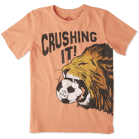 Boys Crushing It Soccer Crusher Tee