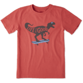 Boys Dino Skate Crusher Tee