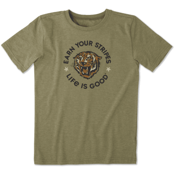 Boys Earn Your Stripes Cool Tee