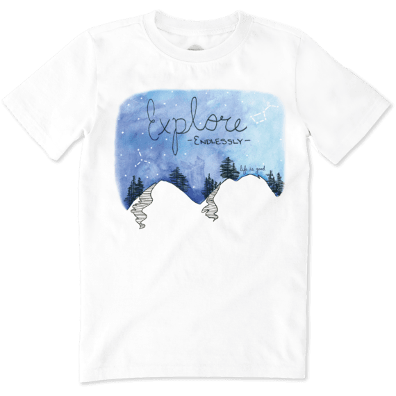 Boys Explore Endlessly Crusher Tee