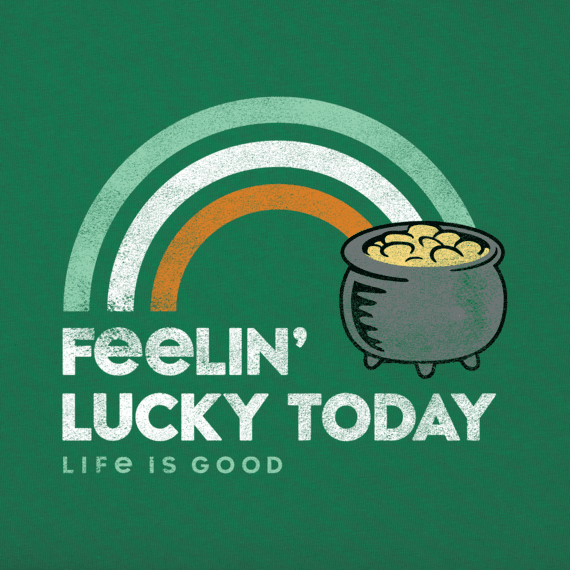 Boys Feelin' Lucky Crusher Tee