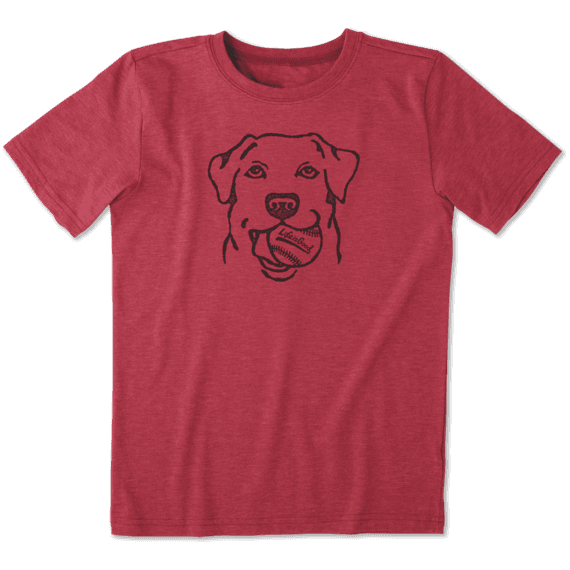 Boys Fetch Baseball Cool Tee