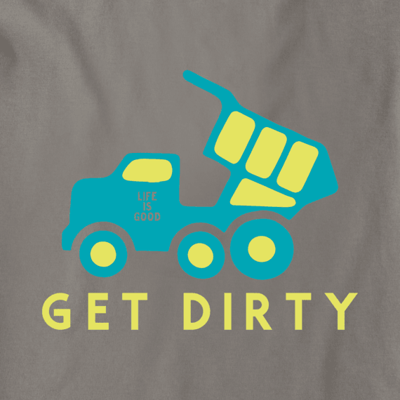 Boys Get Dirty Truck Crusher Tee