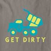 Boys Get Dirty Truck Crusher Tee