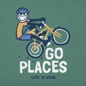 Boys Go Places Bike Crusher Tee