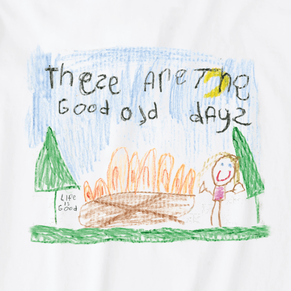 Boys Good Old Days Crusher Tee