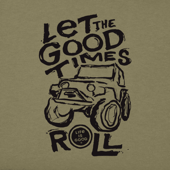 Boys Good Times Roll Crusher Tee