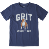 Boys Grit Doesn't Quit Crusher Tee