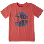 Boys Groovy Guitar Crusher Tee