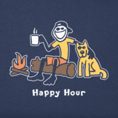 Boys Happy Hour Vintage Crusher Tee