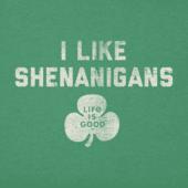 Boys I Like Shenanigans Crusher Tee
