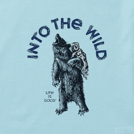 Boys Into the Wild Bear Cool Tee