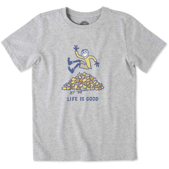 Boys Jake Leaf Pile Crusher Tee