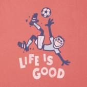 Boys Jumping Soccer Crusher Tee