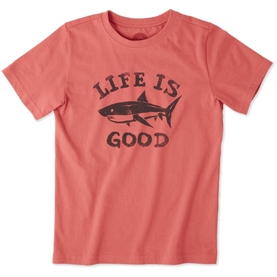 Boys LIG Shark Crusher Tee