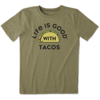 Boys LIG With Tacos Cool Tee