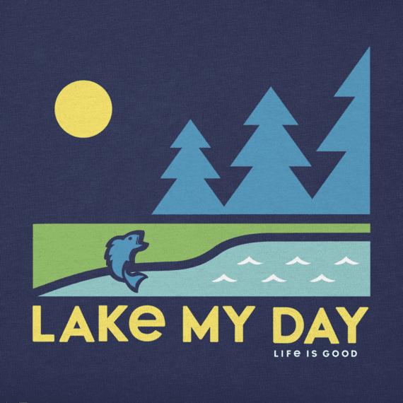 Boys Lake My Day Crusher Tee