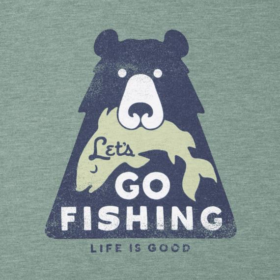 Boys Lets Go Fishing Cool Tee