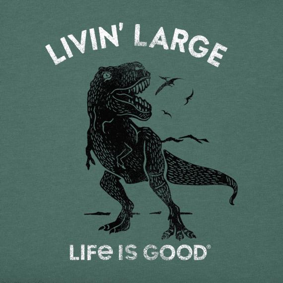 Boys Livin' Large T-Rex Crusher Tee
