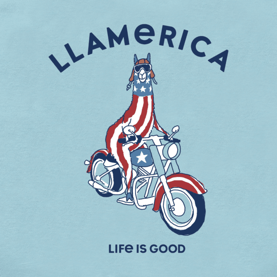 Boys Llamerica Crusher Tee