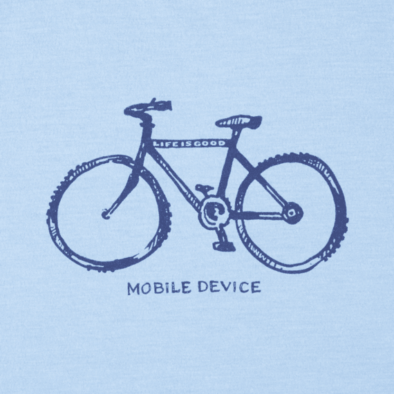 Boys Mobile Device Bike Cool Tee