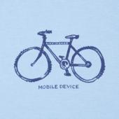 Boys Mobile Device Bike Cool Tee