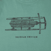 Boys Mobile Device Sled Crusher Tee