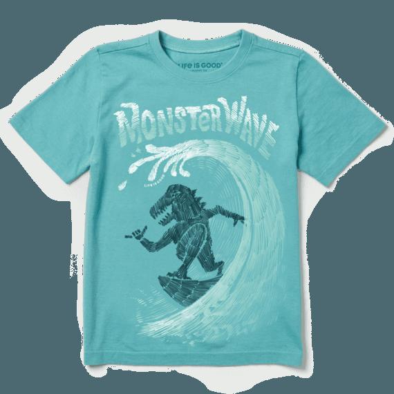 Boys Monster Wave Crusher Tee