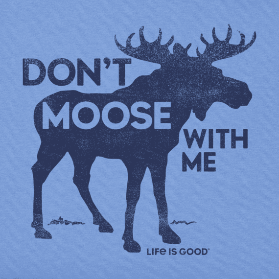 Boys Moose With Me Crusher Tee