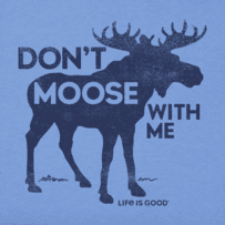 Boys Moose With Me Crusher Tee