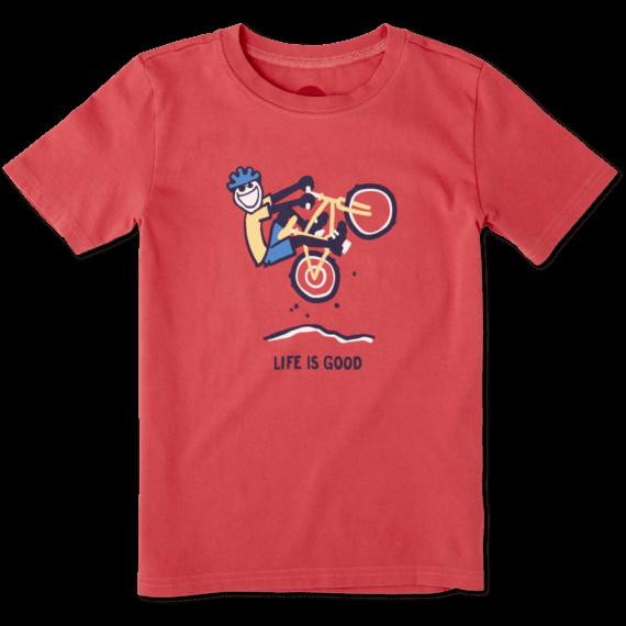 Boys Mountain Bike Crusher Tee