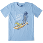 Boys Party Wave Surf Crusher Tee