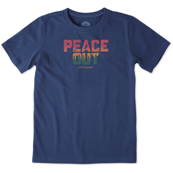 Boys Peace Out Crusher Tee