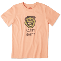 Boys Scary Happy Crusher Tee